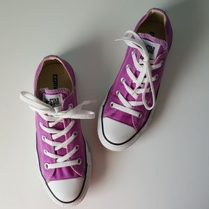 NEW Converse Violet Purple Low Tops Sneakers M4/W6